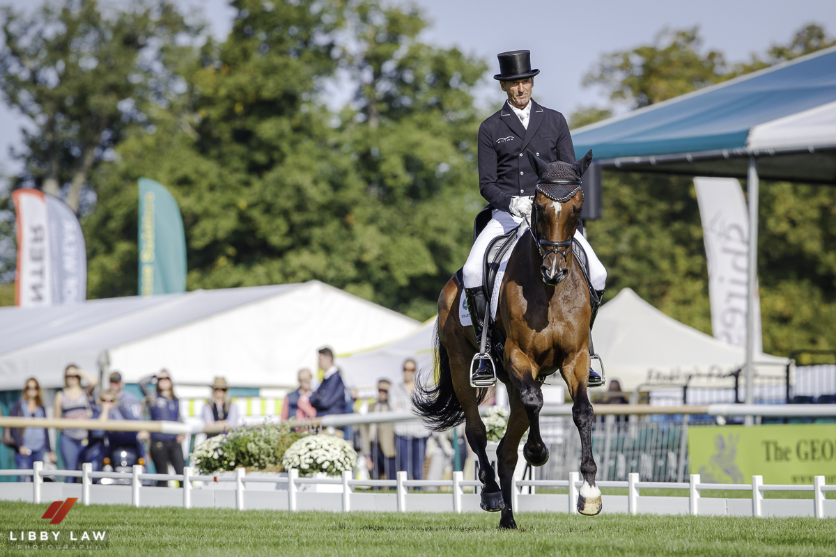 Burghley Dressage